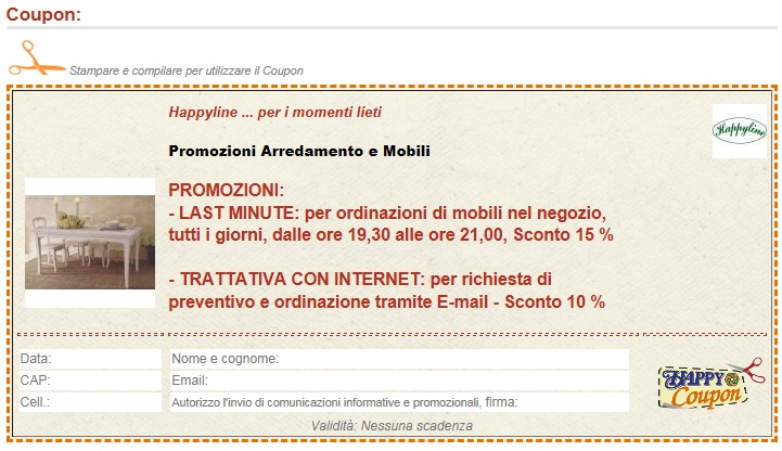 coupon clicca, stampa e...