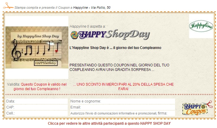 coupon happy shop day