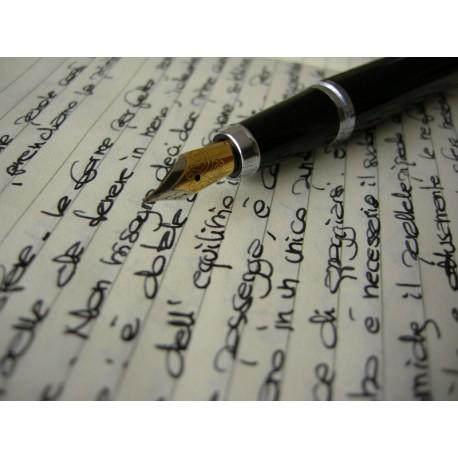 Progetto Penne e Strumenti scrittura