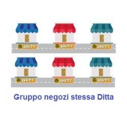 Esempio reale progetto per Gruppo negozi monomarca