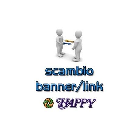 Scambio di Banner per la pubblicità reciproca