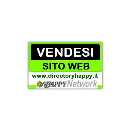 Vendita siti web del Network Happy