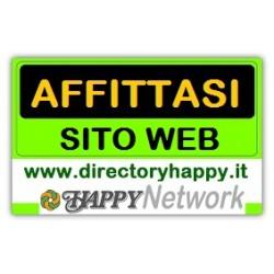 Affitto siti web del Network Happy