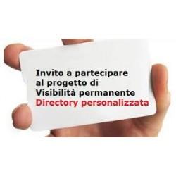 Attivazione 1° anno Directory esclusiva personalizzata