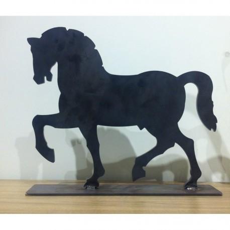 Statuine e sculture di animali in ferro battuto lavorate a mano
