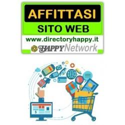 Affitto sito con piattaforma E-Shop