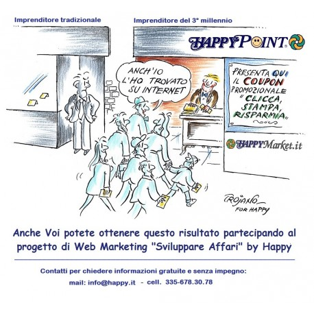 Happymarket.it, la Comunità dei Centri Commerciali Virtuali