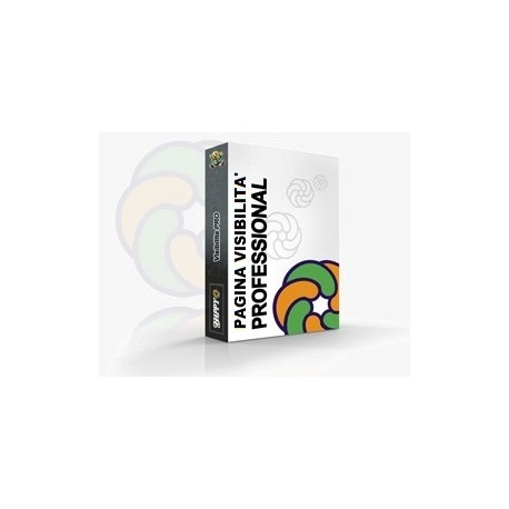 Pagina PROFESSIONAL per creare la Rete di Prodotti e/o Servizi correlati della stessa Impresa