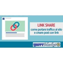 Link ai testi, immagini o video sulla Pagina PLUS