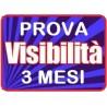 Pagina Visibilità - Prova visibilità 3 mesi
