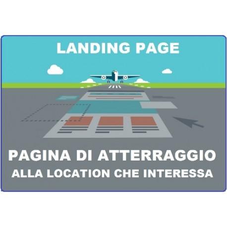 Landing Page - pubblicazione