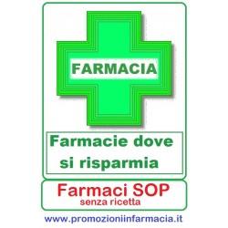 Farmacie - Pagina Risparmio - prodotti senza ricetta SOP