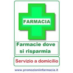 Farmacie - Pagina Risparmio con servizio di consegna a domicilio