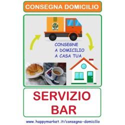 Bar e Caffetterie che consegnano a domicilio