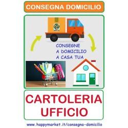 Cartolerie e Fornitori per Ufficio che consegnano a domicilio