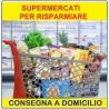 Supermercati alimentari che consegnano a domicilio