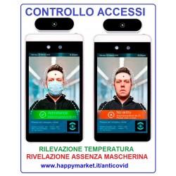 Attività che offrono sistemi di rilevamento temperatura corporea ed uso mascherine