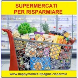 Supermercati offerta speciale pagina risparmio