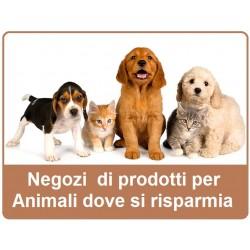 Negozi animali offerta speciale pagina risparmio