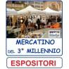 ESPOSITORI MERCATINO 3° MILLENNIO - OFFERTA SPECIALE PER PARTECIPARE AL MERCATINO DEL 3° MILLENNIO
