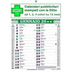 Calendario Olandese con stampa pubblicitaria